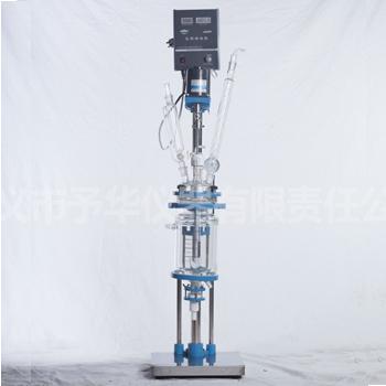 YSF-1L、2L、3L单双层玻璃反应釜